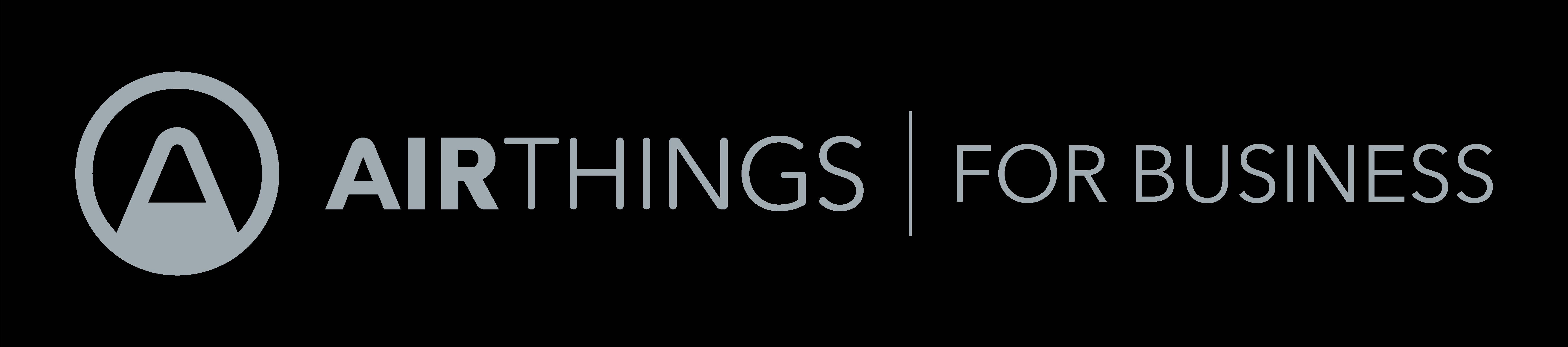 Airthings horizontal logo